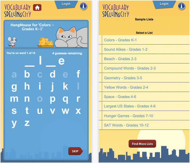 bridgeway-homeschool-academy-spelling-city-app