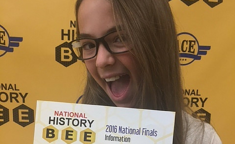 Bridgeway Homeschool Academy Student is a National Finalist in the History Bee, Student Showcase – Faith Merkh a National History Bee Finalist!