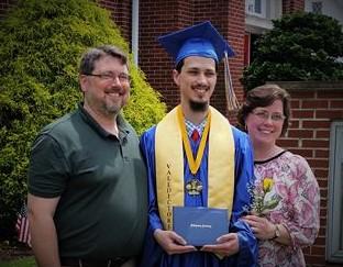 homeschool success, 2016 Valedictorian Joshua Appel & Bridgeway Homeschool Success