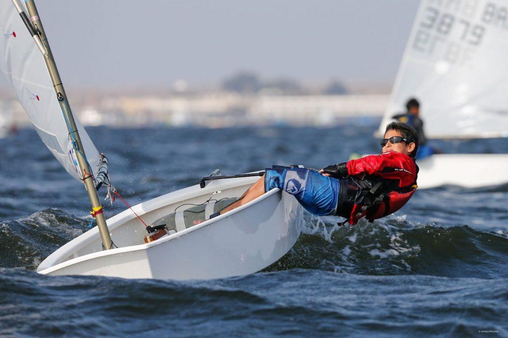 Homeschooler sailing