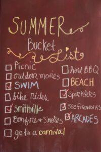 summer bucket list, Summer Bucket List for Kids and Teens