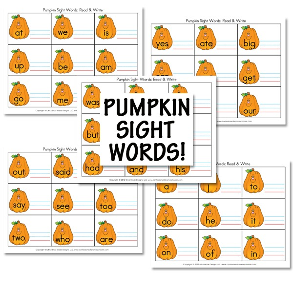 Pumpkin Lesson Plans for the Fall - Homeschooling Help