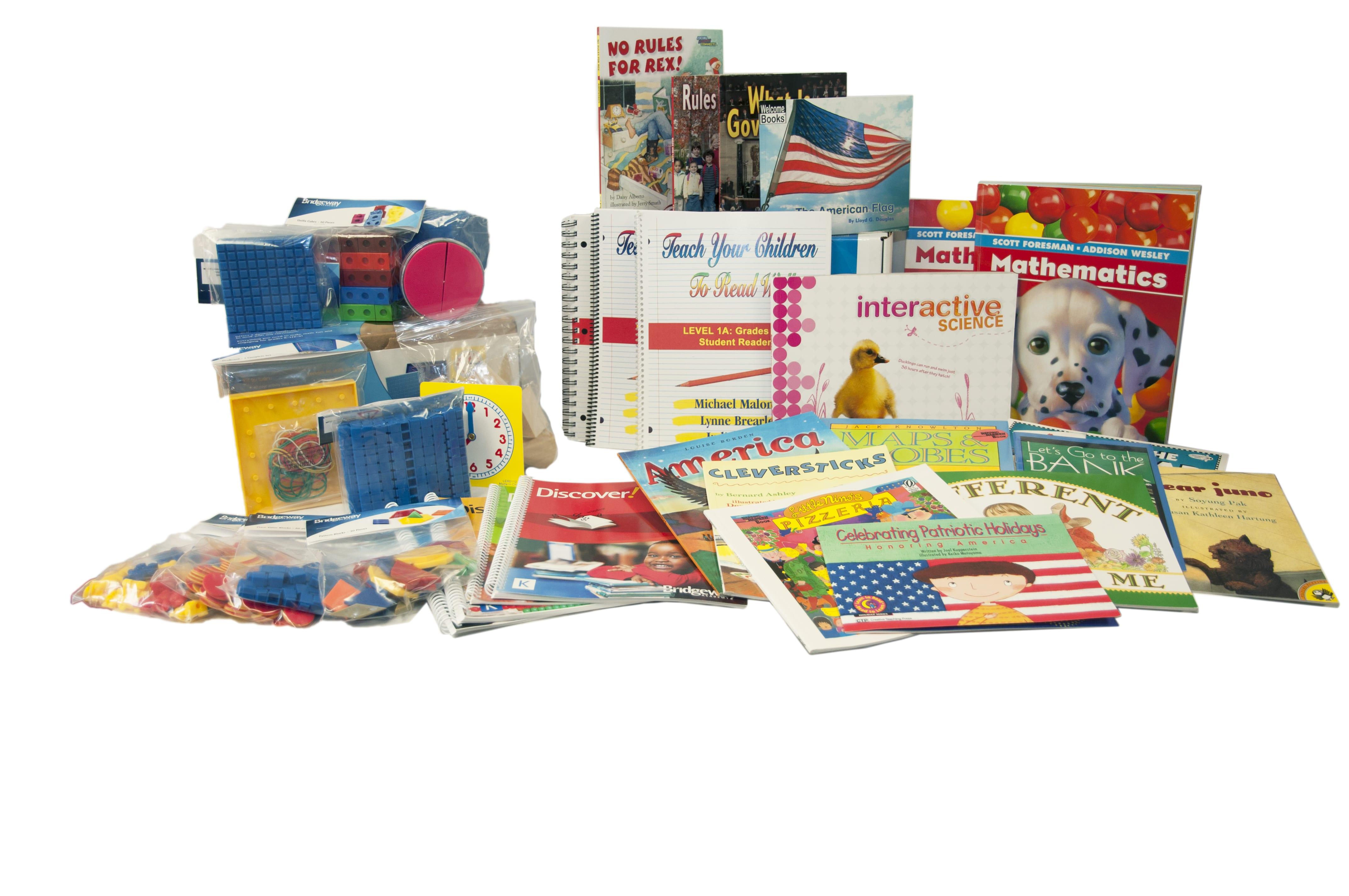 Choose Your Kindergarten Homeschool Curriculum Bridgeway