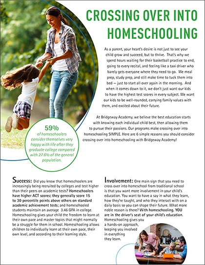 start homeschooling, Crossing Over into Homeschooling