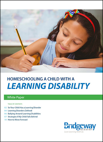 Homeschooling Learning Disabilities, Learning Disabilities