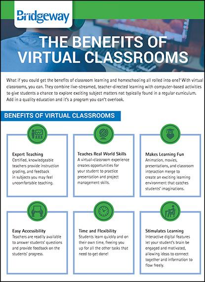 , Benefits of Virtual Classrooms