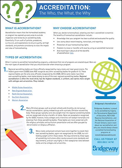 , The Who, What, and Why of Accreditation