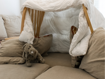 building a blanket fort, Building the Most Awesome Blanket Fort for Reading!
